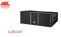 爵士龙双10寸体育场馆音响系统工程配置单 LAB-610