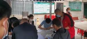 響應國家號召,萬昌(chang)組織員工進行新冠(guan)疫苗接種工作