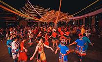 【爵士龙音响】JSL为湘西秘境小镇首届跳花节提供舞台演出设备