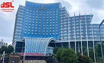 JSL双十线阵应用于南充豪威益国际酒店