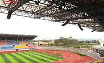 东京奥运,中国加油!鹿寨体育中心告诉您大型体育场馆如何进行扩声系统设计