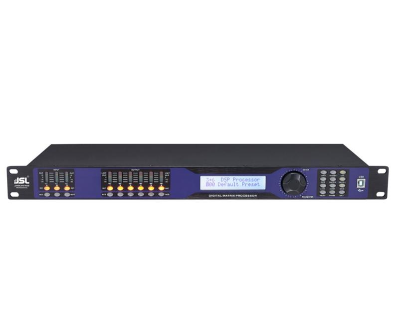爵士龙音频处理器DS4080