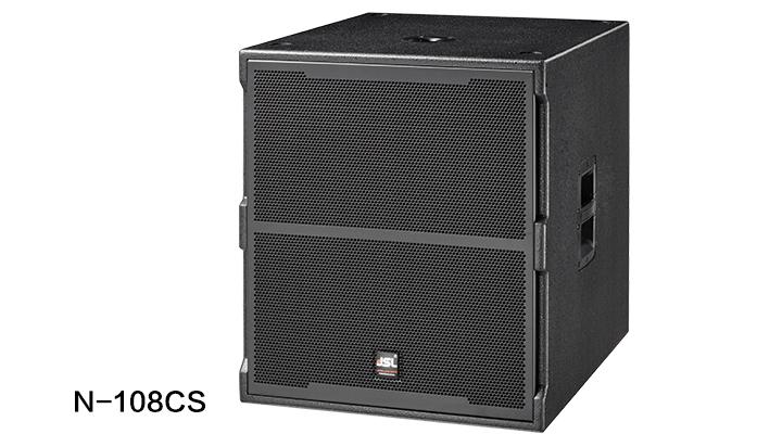 爵士龙专业音响 数字有源音箱 N-108CS