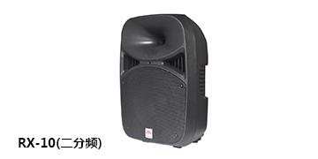 爵士龙音响 专业二分频音箱RX-10
