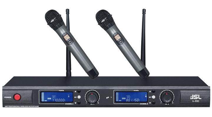 爵士龙无线话筒K-890