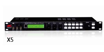 爵士龙专业音响设备 X5前级处理器