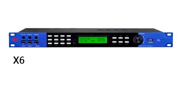 爵士龙专业音响设备 X6前级处理器
