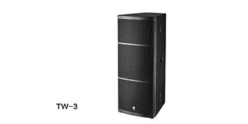 爵士龙舞台音响 TW系列音箱 TW-3