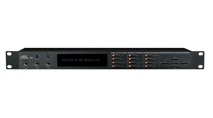 爵士龙专业音响设备前级处理器K6