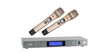 爵士龙音响专业音响无线话筒K-680