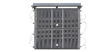 爵士龙双十二寸阵列次低音扬声器LA-6215B