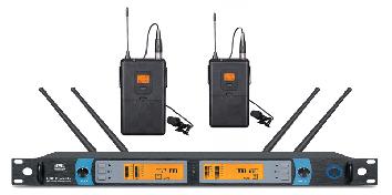 爵士龙音响专业无线领夹话筒G-980W