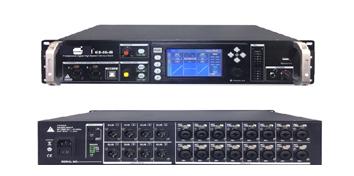 爵士龙Dante 网络音频传输器EX16-8