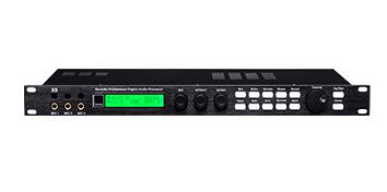 爵士龙专业音响设备 X8前级处理器